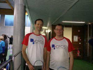 L'équipe du badminton