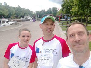 L'équipe du relais marathon