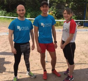 L'équipe du Biathlon