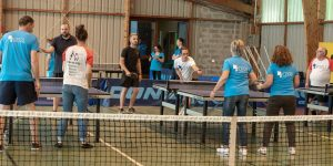 Tournoi de tennis de table amical